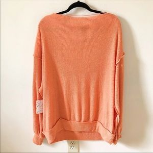 Free People Tops - NWT Free People Main Squeeze Hacci Top Cayenne
